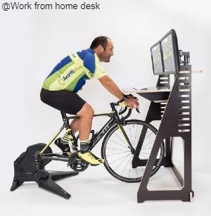 Indoor Cycling Desk | Indoor Training Desk