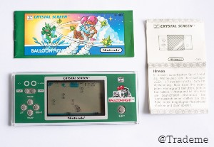 Ninetindo Game & Watch Balloon Fight Crystal Screen BF-803 - Extremely Rare