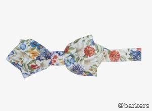 Parisian Garland Bow Tie