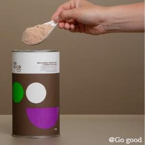 Whey Protein Powder + Organic Chocolate