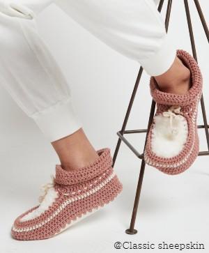 Karen Walker X Classic NZ Crochet Slipper