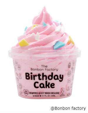 BIRTHDAY CAKE   BODY WASH WHIP