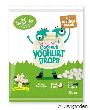 Dairy Free Vanilla Coconut yoghurt drops 10g