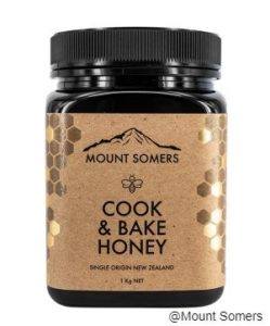 MOUNT SOMERS COOK & BAKE HONEY - 1KG