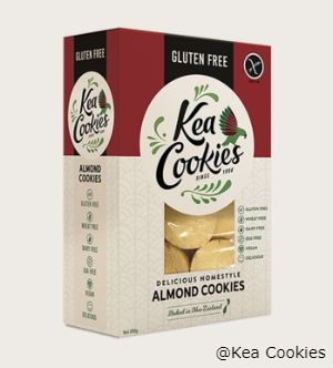 250g pack of Almond Cookies – Gluten, Wheat, Dairy and Egg Free