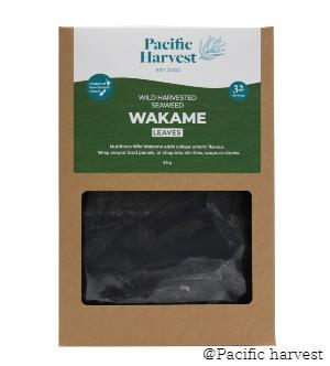 Wakame Seaweed Leaves (Wild Harvested) – 80g