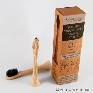 Philips Sonic Electric Toothbrush Bamboo replacement Brush Head